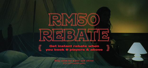 RM50 rebate Hauntu | use code checkin50