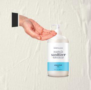 Hauntu Covid-19 SOP - Hand Sanitizer