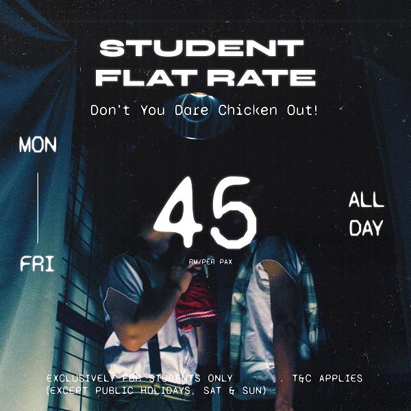 HauntU Student discount - RM48