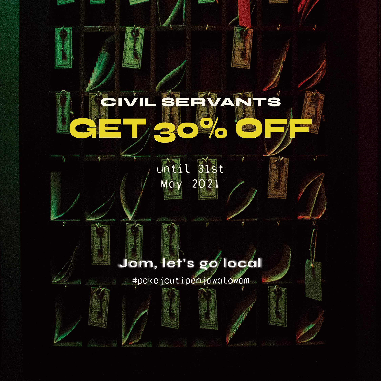 Civil Servant promo | Hauntu