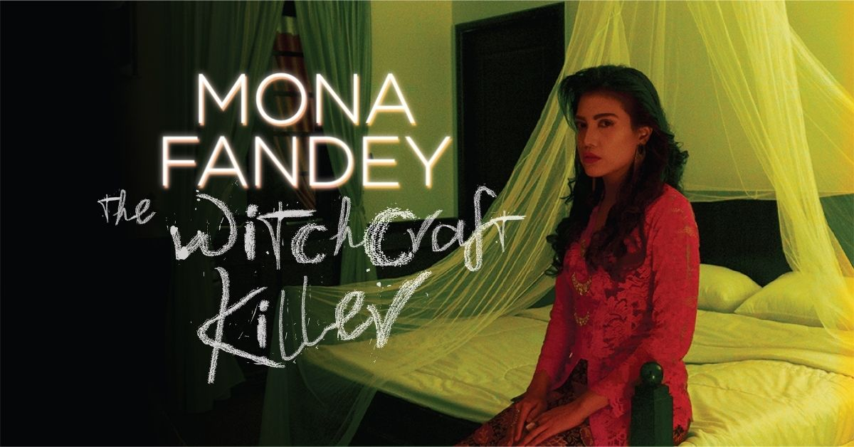 Mona Fandey lesser known fact - lady in red - Hauntu blog cover image